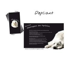 Dépliant