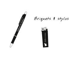 Briquets & stylos