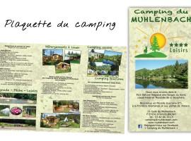 Dépliant du Camping du Muhlenbach