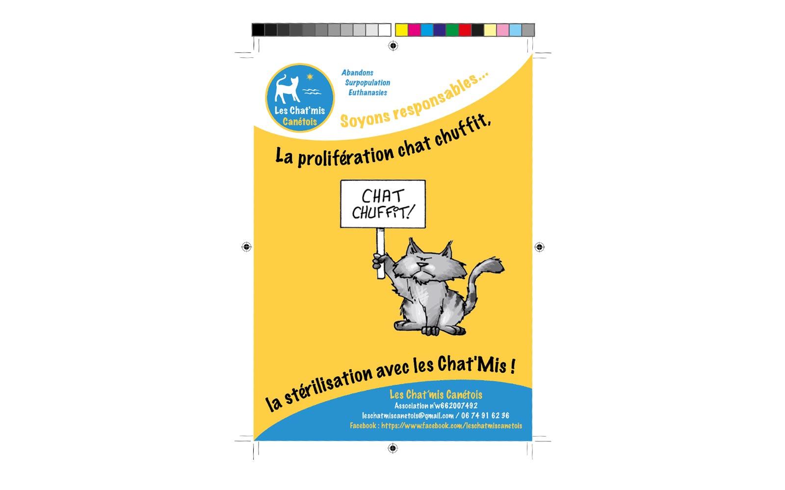 Flyer Des Chat'mis Canétois