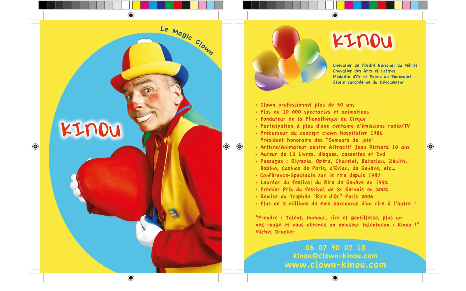 Carte 1 Clown Kinou