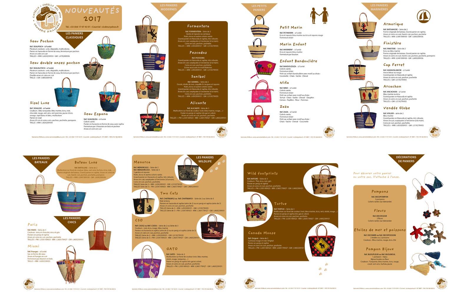 Catalogue Nouveautés Vanneries D'Ailleurs