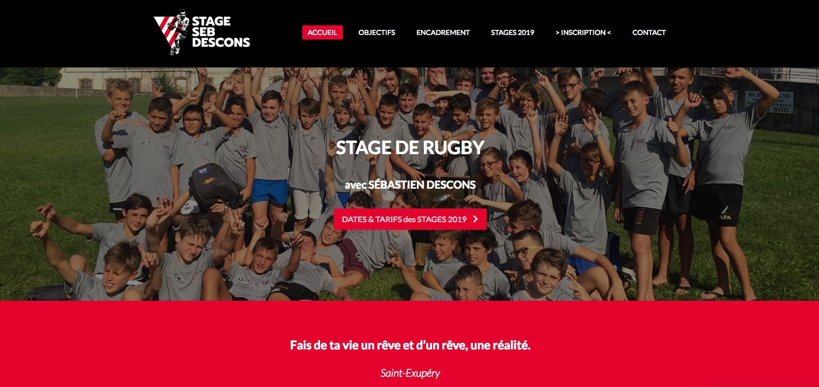 Stage De Rugby Sébastien  Descons