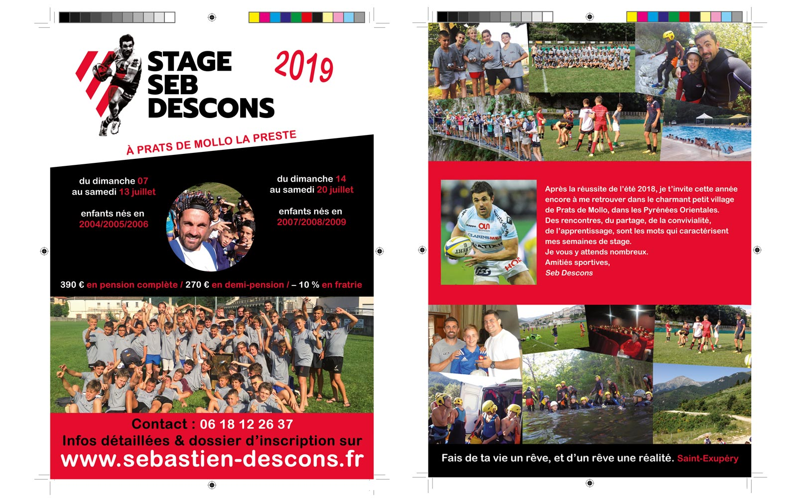 Flyer Sébastien Descons