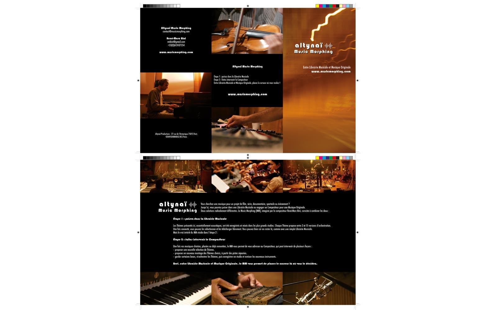 Flyer Music Morphing